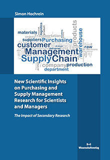 New Scientific Insights on Purchasing and Suppy Management